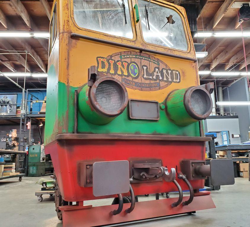PUBG – Dinoland Park Train