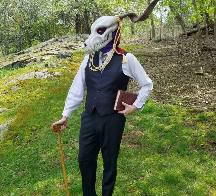 Ancient Magus Bride Mask & Cane