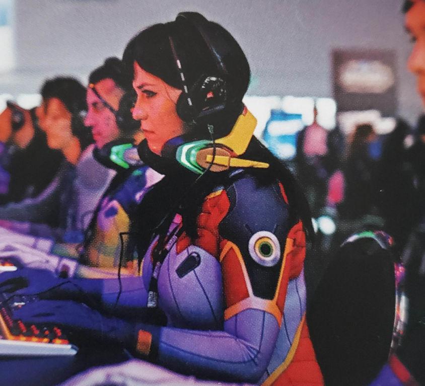 Overwatch DVA Headsets