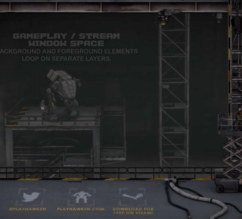 Mech Hangar & Cockpit Animations